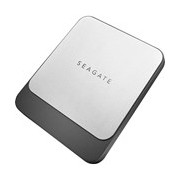 "Seagate Fast STCM500401 500 GB Portable Solid State Drive - 2.5"" External - Black, Cool Silver"