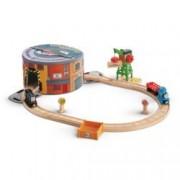 Thomas & Friends Wooden Railway Working Hard Steamies and Diesels Set