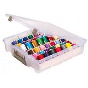 ArtBin Super Satchel Caja de 1 compartimento, Transparente, 1 unidad