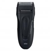 Aparat de barbierit Braun 195, Acumulator, Lavabil, Indicator LED, Negru