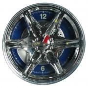 Ceas de perete - Janta auto - LED-uri albastre - Ø27cm