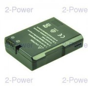 2-Power Digitalkamera Batteri Nikon 7.4v 950mAh (EN-EL14)