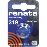 Baterie buton oxid de argint 319, 1,55 V, 21 mAh, Renata