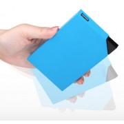 iHave Delta Power Bank 6000 mAh - външна батерия за смартфони и таблети с вграден MicroUSB кабел (син)