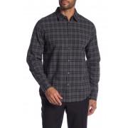 John Varvatos Star USA Mayfield Slim Fit Point Collar Shirt SILVER