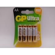 GP AA LR6 15AU baterii ultra alcaline 1.5V blister 4 GP Batteries