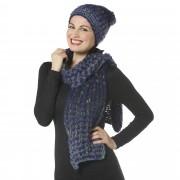 Via Set 2 pezzi: sciarpa e cuffia multicolor