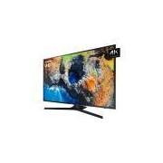 Smart TV 55 Samsung LED 4K 55MU6100, Preta, Wi-Fi, USB, HDMI