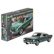Revell Germany 1965 Ford Mustang 2+2 Back Plastic Model Kit (1/25 Scale)