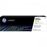 Тонер касета HP 203A Original LaserJet Toner Cartridge; Yellow; Page Yield 1,300 pages; HP Color LaserJet Pro M254dw; M254nw; MFP M280nw; CF542A