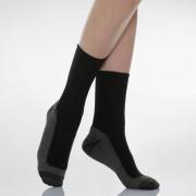 DIABETIC X-STATIC Kratke čarape za dijabetičare sa sunđerastim umetkom i srebrnim nitima