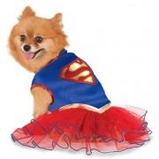 Rubie's DC Comics Super Girl Pet Tutu Dress, Medium