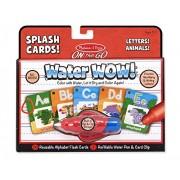 Melissa & Doug Alphabet Splash Cards, Multi Color