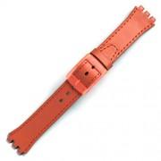 Curea ceas tip Swatch din piele naturala nr. 192 [17-SW12]