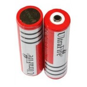 Philips UltraFire 2x 18650 Batterie (3000 mAh, Wiederaufladbar)