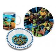 Teenage Mutant Ninja Turtles ontbijtset (keramiek)