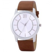 SOBER AND SIMPLE WHITE DAIL PREMIUM LOOK WATCH Watch - For Men 120