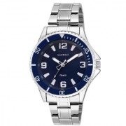 LAURELS Invicta Series Blue Color Men Watch (LO-IVA-030707)