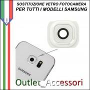 Sostituzione Cambio Vetro Fotocamera Rotta Samsung Note 4 N910F Camera Posteriore