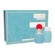 Miu Miu Miu Miu Edp 50 ml + Body Lotion 100 ml 50ml Per Donna (Eau de Parfum)