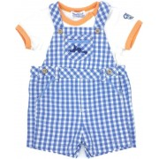 Set bebe, salopeta/tricou, Mayoral 4-6luni