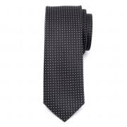 pentru bărbați îngust cravată (model 1257) 7962 în negru culoare
