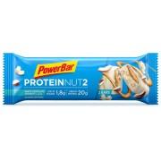 PowerBar Protein Nut2 Sportvoeding met basisprijs Milk White Chocolate Coconut 2 x 30g blauw 2018 Sportvoeding