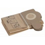Торба Хартиена филтърна за прах, 5 бр., за PAS, 2605411150, BOSCH