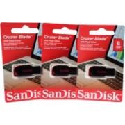 SanDisk Cruzer Blade Usb 8 GB Pen Drive(Multicolor)