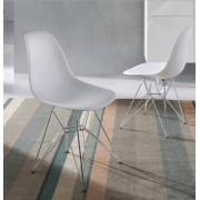 items-france NEW YORK - Lot de 4 chaises design 56x47x81,5/45cm