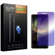 Adoniss Anti Blue Mobile Tempered Glass Protector (Pack of 1) for Nokia 7 Plus