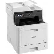 Multifunctional Brother DCP-L8410CDW, Laserjet color, A4, 31 ppm, Duplex, ADF, Retea, Wireless (Alb)