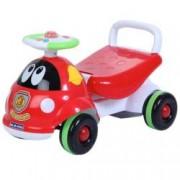 Ride-on si antemergator Saint Toys Masinuta de pompieri