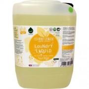 Detergent ecologic lichid pentru rufe albe si colorate portocale 5L