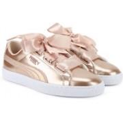 Puma Basket Heart Lunar Lux Jr Sneakers For Women(Beige)