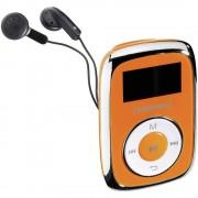 MP3 reproduktor Intenso Music Mover 8 GB, narančaste boje, pričvrsna kopča