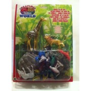Creatures Of The World Jungle Playset