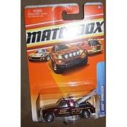 2010 MATCHBOX CITY ACTION #73 BURGUNDY PACIFIC WRECK & SALVAGE GMC WRECKER by Matchbox
