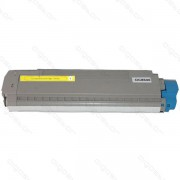 OKI : Cartuccia Toner Compatibile ( Rif. C 8600-8800 / OEM : 43487709 ) - Giallo - ( 6.000 Copie )