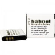 Batteria ricaricabile fotocamera Hähnel sostituisce la batteria originale LI-50B, Li-52B, D-