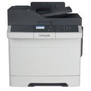 Multifunctional Lexmark CX317DN, laser color, A4, 23 ppm, Duplex, Retea (Alb/Negru)