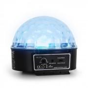 Beamz Mini Star Ball, RGBWA, LED, 6 x 3 W, музикален режим (Sky-153.215)