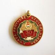 Insigna militara comemorativa 30 ani
