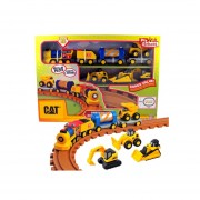 Mini Tren Con Luces Y Sonidos Cat Linea Preschool - 80408