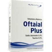 Alfa Intes (Ind.Ter.Splendore) Soluzione Oftalmica Oftaial Plus Acido Ialuronico 0,4% E Taurina 15 Flaconcini Richiudibili Da 0,6 Ml