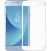 Folie Meleovo Sticla Full Cover Samsung Galaxy J7 2017 White 2.5D 9H oleophobic