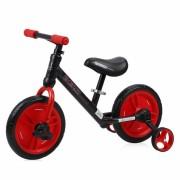 Bicikl Balance Bike ENERGY 2 u 1 Black & Red