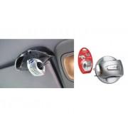 RELAX Klip na brýle do auta RCC01A stříbrná
