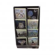 Ajándékkísérő Kártya - Bug Art - Uhu Bagoly