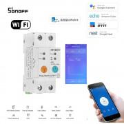 WiFi inteligentný spínač 2P s meraním spotreby elektrickej energie + Prúdový chránič
